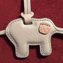 Fossil Artsy Cute Elephant Charm in Gorgeous Leather - Nwt Photo