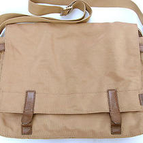 Fossil Atlas Ballistic Nylon Messenger Laptop Bag Sling Crossbody Photo