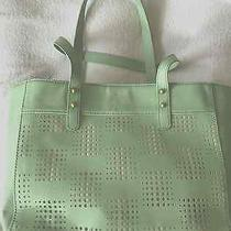 Fossil Audri Shopper Winter Green Nwt Photo