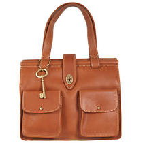 Fossil 'Austin' Leather Bar Satchel Zb5591216 Photo