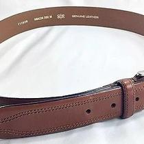 Fossil  Authentic Brand 54 Man's Brown Leather Belt  Size 90 / 36 Photo