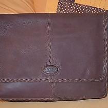 Fossil Authentic Laptop Bag - Mahogany Photo