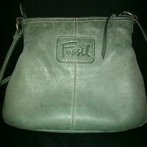 Fossil Avocado Green Handbag Photo