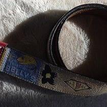 Fossil Beach Resort Belt Size Small 38