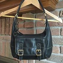 Fossil Beautiful Brown Pebbled Leather Satchel / Handbag Photo