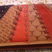 Fossil Beautiful Ladies Wallet -All Leather Bifold Photo