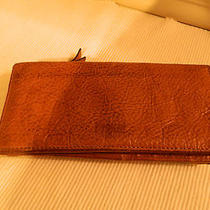 Fossil Beige  Leather Wallet Photo