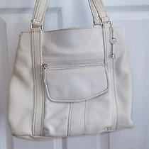 Fossil Beige Shopping Bag Photo