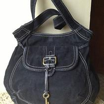 Fossil Black Handbag Photo