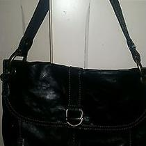 Fossil-Black Leather Bag Photo