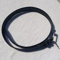 Fossil Black Leather Belt Photo