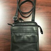 Fossil Black Leather Crossbody Photo