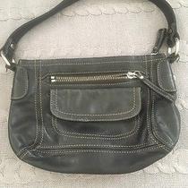 Fossil Black Leather Handbag Photo