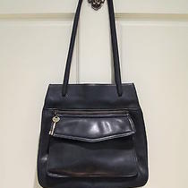 Fossil Black Leather Purse Photo