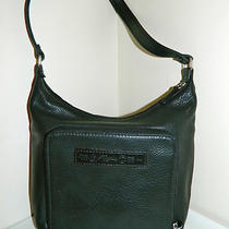 Fossil Black Leather Tote Satchel Handbag Purse  Photo