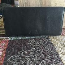 Fossil Black Leather Wallets 3pieces  Photo
