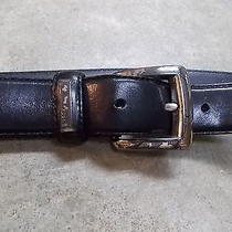 Fossil Black M Leather Belt Photo