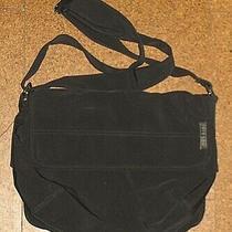 Fossil Black Microfiber Cross Body Shoulder Bag Purse  Photo