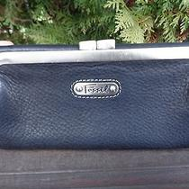 Fossil Black Pebbled Leather Wallet Photo