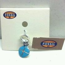 Fossil Blue Charm Photo
