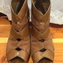 Fossil Booties Cognac Leather 7 Photo