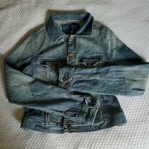 Fossil Brand Denim Jacket Womans Size Xl  Photo