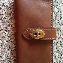 Fossil Brand Leather Wallet Photo