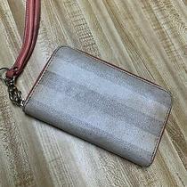 Fossil Brand Wallet Clutch Zip Around Wristlet  Photo