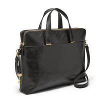 Fossil Bridgitte Laptop Bag Black Zb7583001 Photo