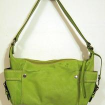 Fossil Bright Green Leather Handbag Photo