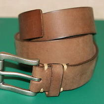 Fossil Brown 100% Genuine Leather Mens Casual Belt Size 40/100 New Photo