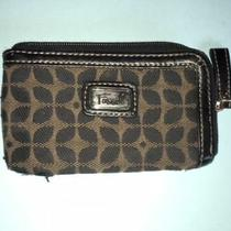 Fossil Brown and Black Card / Coin Purse - Clean Photo