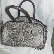 Fossil Brown Animal Print Hand/shoulder Bag Photo