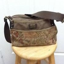 Fossil Brown Cordory Bag Photo