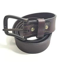 Fossil Brown Distressed Edge Leather Belt 40 Photo