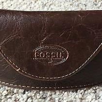 Fossil Brown Glasses Case  Photo