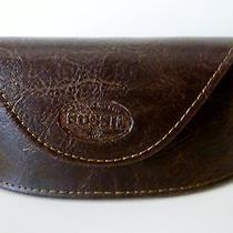Fossil Brown Gorgeous Sunglasses Case . Authentic.  New Photo