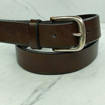 Fossil Brown Italian Full Grain Leather Belt Size 36 Photo