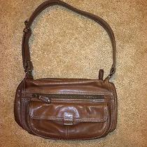 Fossil Brown Leather Bag Photo