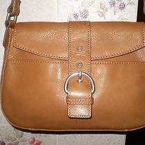 Fossil Brown Leather Baguette Photo