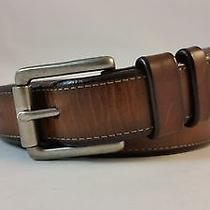 Fossil  Brown Leather Belt Photo