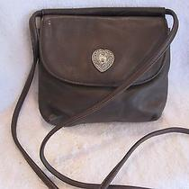 Fossil Brown Leather Crossbody Photo