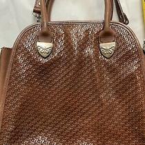 Fossil Brown Leather Crossbody  Bag - Euc Photo