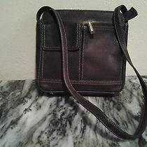 Fossil Brown Leather Handbag Photo