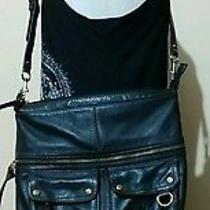 Fossil Brown Leather Handbag. Photo
