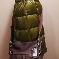 Fossil Brown Leather Handbag Shoulder Crossbody Bag Photo