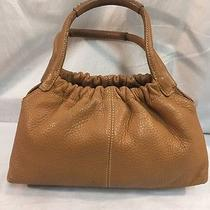 Fossil Brown Leather Shoulder Purse Photo