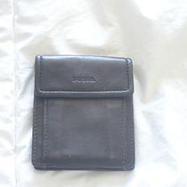 Fossil Brown Leather Wallet Guc Photo