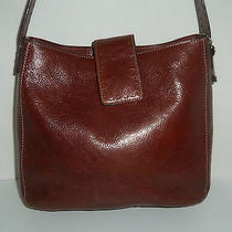 Fossil Brown Leather Women's Handbag Satchel Photo