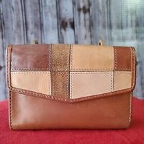 Fossil Brown Leather Womens Wallet Photo